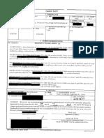 Charge Sheet For Maj. Jason Sartori (Redacted)