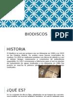 Diseño de Bio-Discos