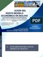 MEFP v Seminario Modelo Economico de Industrializacion en La Perspectiva de Consolidacion Del Estado Plurinacional