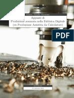apuntti di produzione avanzata nella fabbrica digitale