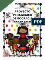 Proyecto Trasversal Dmecracia Escolar