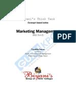 Marketing Management(BBA)P 2