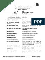 Acta 420 Debate Acerca de La Creacion de La Ubv