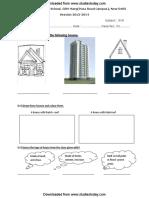 CBSE Class 3 EVS Practice Worksheet (1)