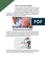 Importancia de La Filosifia en Enfermeria