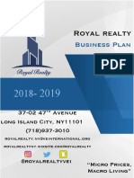 royal realty business plan  final  submiited to ve 01 25 19