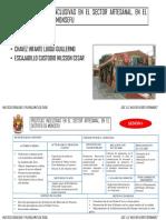 Politicas Inclusivas en El Sector Artesanal, En El Distrito de Monsefu