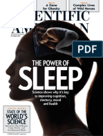 SLEEP - Scientific America - The Power of Sleep - Oct2015