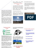 Climate Change Brochure