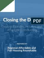 Closing the Divide - Enterprise + FHJC