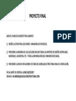 1. Requisitos Para Proyecto Final