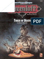Ravenloft - Adventure - Touch of Death v2nd