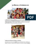 Danza de Los Moros y Cristianos en Guatemala