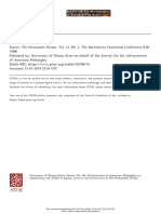 1 Front Matter - The Personalist Forum, Vol. 14, No. 2, The Hartshorne Centennial Conference (Fall 1998)