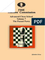 Fide Trainers Commission Advanced Chess School Vol 7 the Passed Pawn