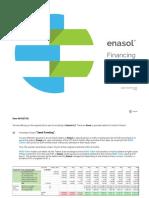 Enasol Financing Offer