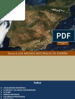 Presentación Los Medios Naturales en España