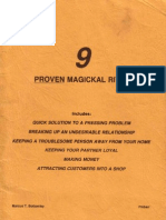Nine Proven Magical Rites