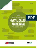 Manual de Competencias en Fiscalización Ambiental para Gobiernos Locales