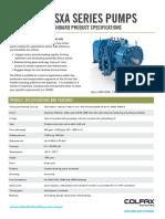 Warren FSXA Series Spec Sheet