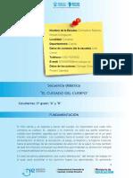 Secuencia Didactica - Micuerpo