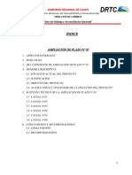 AMPLIACION DE PLAZO N°3 DRTCC