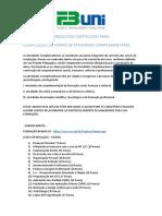 Cursos Com Certificação Online