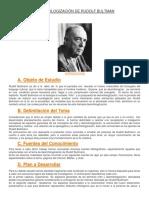 Desmitologización de Rudolf Bultman
