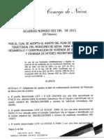 Acuerdo 003 de 2015 Neiva