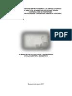 Informe Planificacion Estrategica _ Auditoria de Gestion