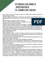 La Doctrina Islamica Destruida Por El Libro de Adan