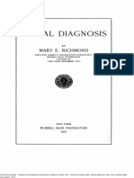 1917, Richmond, Social Diagnosis OCR C