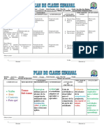 Formato de Plan Semanal 20 de mayo