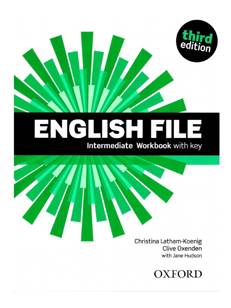Worbook (Answer Key) American English File 3 (OXFORD ...