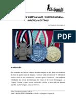 T009 - Medalhas Comemorativas I Guerra