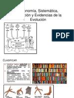 I°Año Medio. 2017. Taxonomía, Sistemática, Evolución y Evidencias de la Evolución