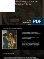 1 Contexto Histórico y Cultural de La América Colonial