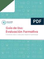 La Evaluacion Formativa y La Mejora de Los Aprendizajes Ccesa007