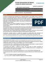 Xx Exame Gabarito Direito Constitucional