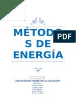 Trabajo de Metodos de Energia