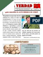 PERIÓDICO LA VERDAD DEL PCS