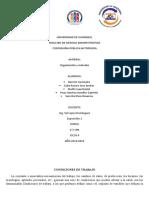 Prevencion de accidentes organización  y métodos