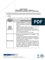 Docente Catedra Artes Dic 2018