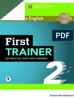 FCE First Trainer  2018