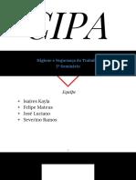 Apresentação Sobre CIPA