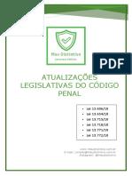 ALTERAÇÕES LEGISLATIVAS DO DIREITO PENAL 2018