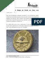 T010 - Falsificação Da Medalha Da Anexação Da Austria