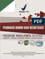 Pedoman Umum Dan Registrasi Program Manajemen Risiko