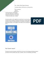 Pemasaran Analysis Consumer