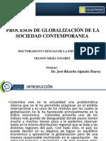 Mapa Globalización y Colombia